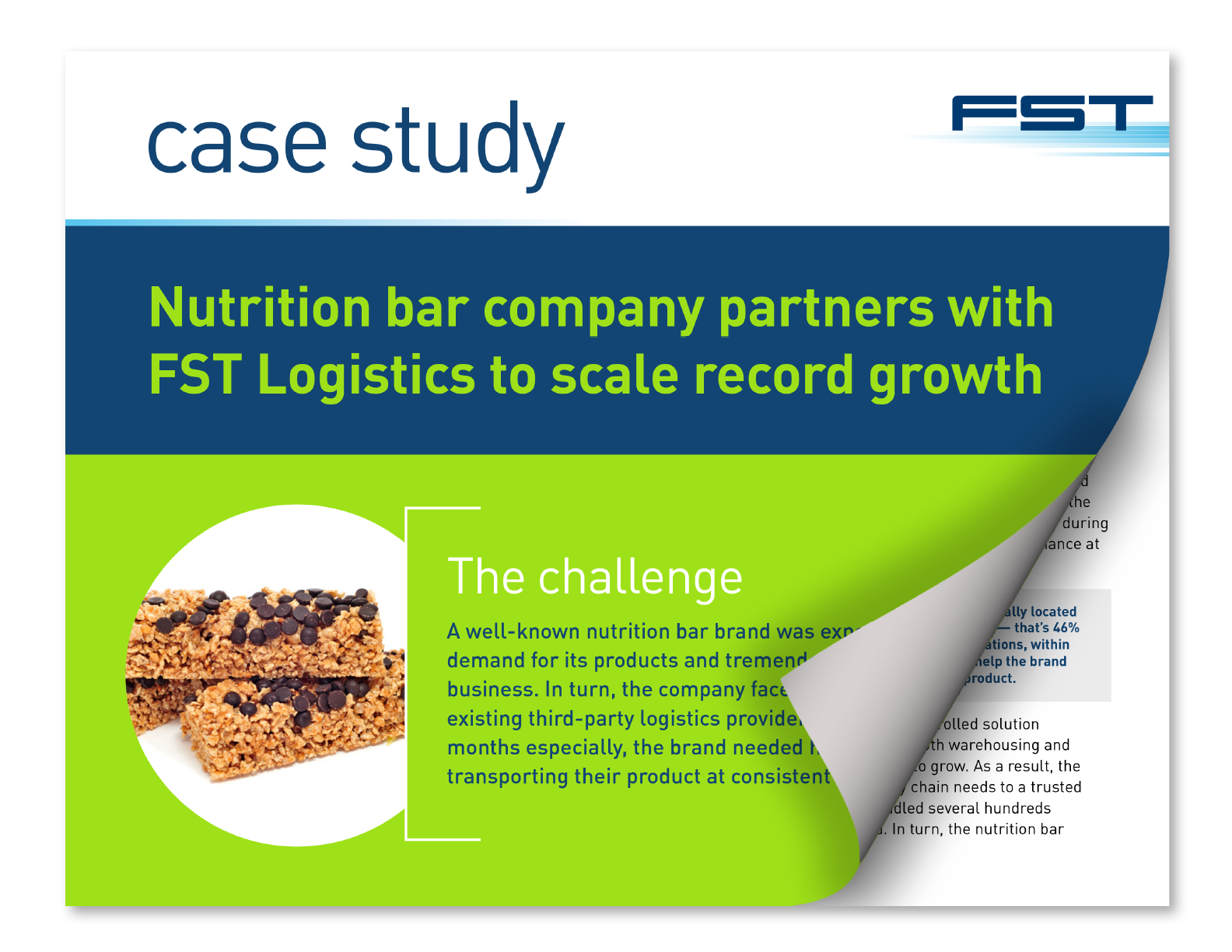 Case Study - Nutrition Bar